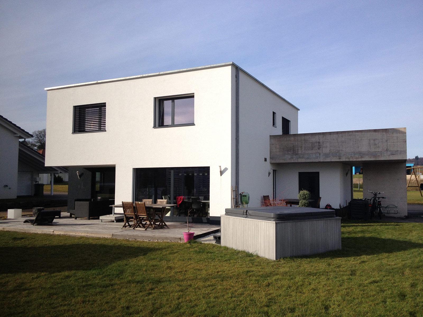 MAISON FAMILIALE - COURTEDOUX - Arches 2000, Architecte, Delémont, Jura